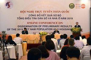 Tổng số dân của Việt Nam là hơn 96,2 triệu người vào thời điểm 0 giờ ngày 1-4-2019