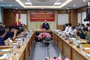 Thủ tướng Nguyễn Xuân Phúc thăm và làm việc tại Bộ tư lệnh Cảnh sát Biển