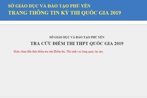 Phú Yên: Công bố địa chỉ tra cứu điểm thi THPT quốc gia 2019