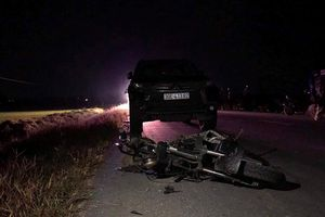 Khởi tố vụ ô tô tông chết 3 cháu nhỏ đi xe máy điện ở Hà Tĩnh