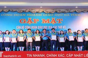 Vinh danh 25 cán bộ, đoàn viên công đoàn cơ sở ngành giáo dục Hà Tĩnh