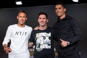 Messi vượt Ronaldo, Neymar trong top 10 nhân vật thu nhập cao nhất thế giới 2019
