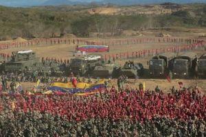 Nhiều thiết bị quân sự Nga được sử dụng trong tập trận tại Venezuela