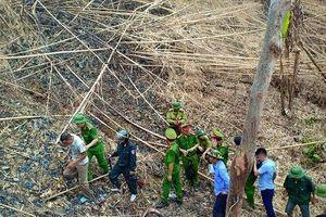 Hà Tĩnh: Công an khám nghiệm hiện trường tại các khu vực xảy ra cháy rừng