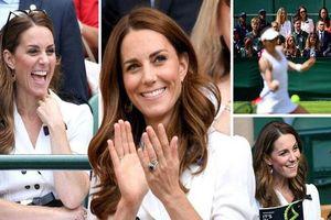 Mới làm dâu hoàng gia đã tỏ thái độ chảnh chọe, Meghan Markle còn phải chạy dài mới theo kịp 'chị đại' Kate, đẳng cấp là phải thế này đây