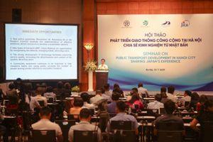 Nhật Bản phối hợp phát triển vận tải công cộng tại Hà Nội