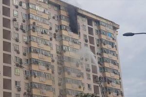 Hỏa hoạn do nổ bình ga căn hộ tầng 15 chung cư Nam Trung Yên