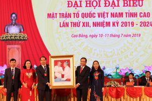 Cao Bằng: Đại hội đại biểu MTTQ tỉnh lần thứ XII, nhiệm kỳ 2019 - 2024