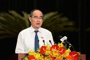 Bí thư Thành ủy TP.HCM chỉ đạo giải quyết vấn đề Thủ Thiêm