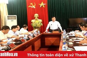 Công bố Kết luận về kết quả kiểm tra việc lãnh đạo, chỉ đạo thực hiện công tác nội chính, phòng chống tham nhũng tại Như Thanh