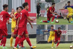 Toàn cảnh chiến thắng tối thiểu của U23 Việt Nam trước U18 Việt Nam