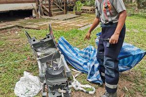 Rơi máy bay quân sự Thái Lan khiến 1 phi công thiệt mạng