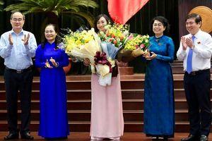 Bà Phan Thị Thắng đắc cử Phó chủ tịch HĐND TP.HCM