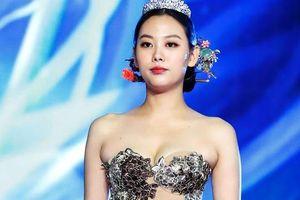 Thí sinh Hoa hậu Hàn Quốc bị chỉ trích vì mặc quốc phục giống nội y