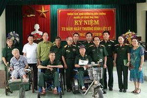 Bệnh viện Trung ương Quân đội 108 tổ chức nhiều hoạt động ý nghĩa nhân kỷ niệm 72 năm Ngày Thương binh-Liệt sĩ
