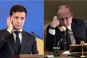 Hé lộ cuộc điện đàm trực tiếp đầu tiên giữa TT Putin và TT Zelensky