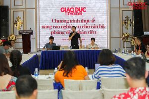 Báo Giáo dục và Thời đại tổ chức tập huấn nghiệp vụ làm báo