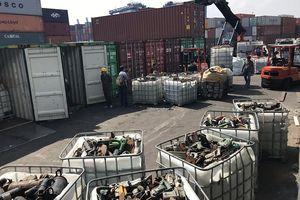 Còn tồn gần 14.000 container phế liệu tại các cảng biển