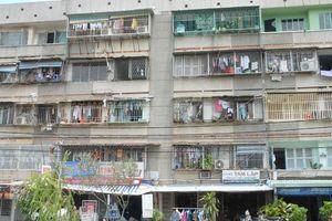 Di dời hơn 1.300 cư dân sống trong chung cư Thanh Đa
