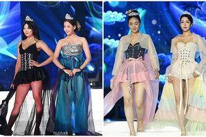 Thí sinh Hoa hậu Hàn Quốc thi mặc hanbok như diễn nội y gây phẫn nộ