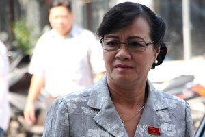 Bà Nguyễn Thị Quyết Tâm: 'Phải có chữ tín, mình nói ra phải làm'