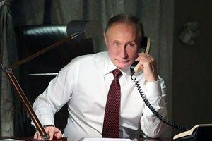 Ông Putin lần đầu điện đàm với ông Zelensky