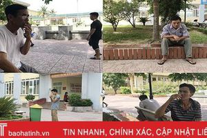 Cấm hút thuốc lá trong bệnh viện Hà Tĩnh vẫn đang 'bắt cóc bỏ dĩa'!