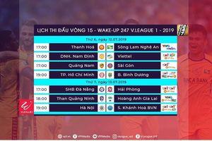 Vòng 15 V.League 2019: HAGL gặp khó, TP.HCM đại chiến Bình Dương