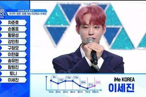 Công bố Top 20 'Produce X 101': Kim Yo Han - Kim Woo Seok đứng đầu, Lee Jin Woo giảm tới 18 hạng và bị loại