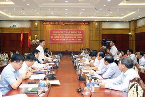 Bộ trưởng Trần Hồng Hà làm việc với lãnh đạo tỉnh Tây Ninh