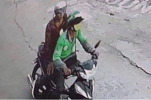 Cận cảnh hình ảnh nghi phạm cứa cổ tài xế GrabBike, cướp tài sản