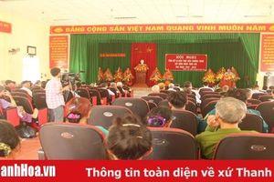 Tổng kết 10 năm Chương trình Xây dựng Nông thôn mới xã Hoằng Lưu