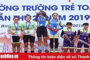 Thanh Hóa giành HCĐ lịch sử tại giải vô địch xe đạp đường trường trẻ quốc gia 2019