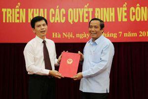 Đồng chí Lê Anh Tuấn, Phó Chủ tịch UBND tỉnh Thanh Hóa làm Thứ trưởng Bộ Giao thông vận tải