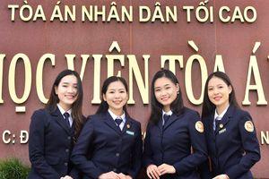 29 thí sinh trúng tuyển ngành Luật học - Học viện Tòa án năm 2019