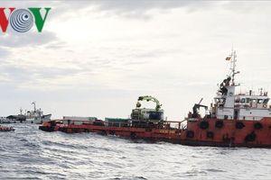 Tiếp tục tìm kiếm 9 thuyền viên tàu NA 95.899-TS