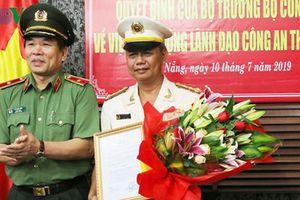 Phó Giám đốc Công an Đà Nẵng giữ chức Phó Chánh thanh tra Bộ Công an