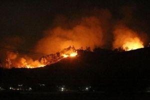 Hương Sơn - Hà Tĩnh: Dân đốt thực bì keo, rừng lại cháy