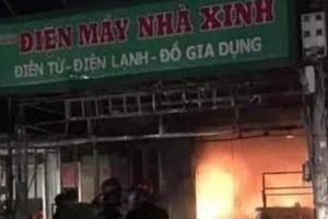 Hải Phòng: Bà hỏa thiêu rụi cửa hàng điện máy