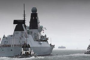 Leo thang căng thẳng với Iran, Anh triển khai tàu Type 45 đến vùng Vịnh