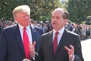 Bộ trưởng Lao động Mỹ từ chức sau tai tiếng với tỷ phú Jeffrey Epstein