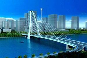 Cầu dây văng nối Thủ Thiêm sẽ hoàn thành năm 2021