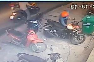 Nhiều vụ trộm 'đá nóng' xe ở quận 9, TP.HCM