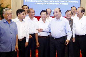 Đoàn Tiểu ban Kinh tế - Xã hội Đại hội XIII của Đảng làm việc với các địa phương miền trung - Tây Nguyên