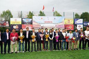Khai mạc Giải bóng đá cộng đồng người Việt Nam tại LB Nga năm 2019
