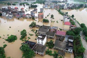 Trung Quốc: Thiệt hại do mưa lũ hơn 1,9 tỷ USD