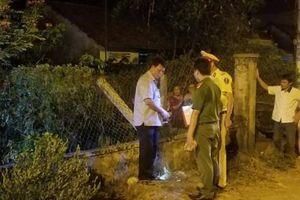 Thanh niên bay qua hàng rào 2m chết trong vườn nhà dân, hé lộ nguyên nhân