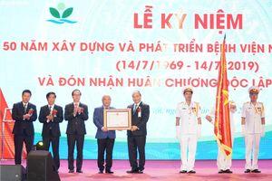 Bệnh viện Nhi Trung ương vinh dự đón nhận Huân chương Độc lập hạng Nhì