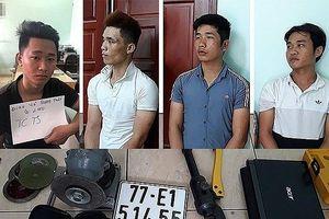 TP HCM: Bắt băng trộm đột nhập nhà trọ 'cuỗm' 9 xe máy
