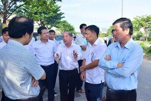 Chủ tịch tỉnh Thừa Thiên Huế trực tiếp kiểm tra nhiều công trình xây dựng